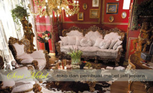 Kursi Tamu Royal Class Ukiran Furniture Jepara