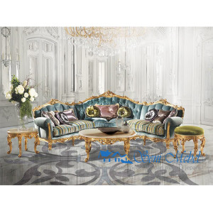 Set-SofaTamu-Mahoni-Antik-Model-Italian-Gold-Leaf